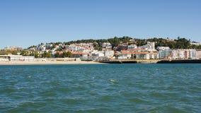 Cruz Quebrada village and beach, Oeiras, Portugal Stock Photo