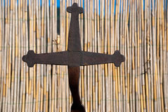 Cruz religiosa Fotografía de archivo libre de regalías