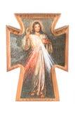 Cruz religiosa Foto de archivo libre de regalías