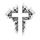 Cruz religiosa Imagenes de archivo