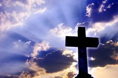 Cruz religiosa Fotografia de Stock Royalty Free