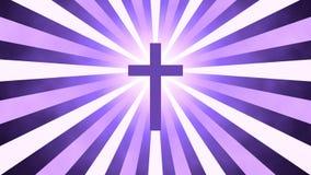 Cruz retro da oração