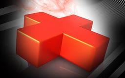Cruz Roja Foto de archivo
