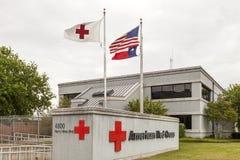 Cruz Roja americana en Dallas Foto de archivo libre de regalías
