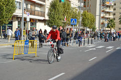 Cruz Roja Bike photo libre de droits