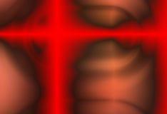 Cruz roja del metal Imágenes de archivo libres de regalías