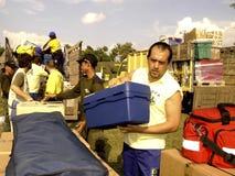 CRUZ ROJA ESPAÑOLA Foto de archivo libre de regalías