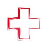 Cruz Roja stock de ilustración