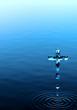 Cruz santa Foto de archivo