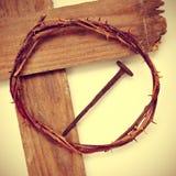 Cruz santa Imagen de archivo