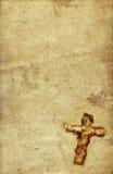 Cruz santa de la vendimia stock de ilustración