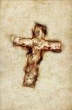 Cruz santa de la vendimia - grande libre illustration