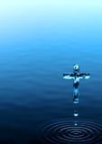 Cruz santamente Foto de Stock