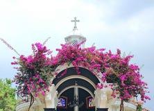 A cruz santamente fotografia de stock royalty free