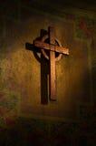 A cruz santamente Imagens de Stock