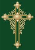 Cruz santamente cristã 2 ilustração stock
