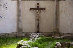 Cruz santamente de Jesus Christ fotografia de stock