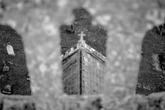 A cruz santamente em Inglaterra Fotos de Stock Royalty Free