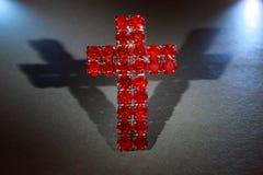 Cruz vermelha Foto de Stock Royalty Free