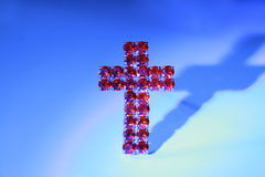 Cruz vermelha Imagens de Stock