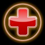 Cruz vermelha Imagens de Stock Royalty Free