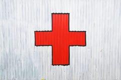 Cruz vermelha fotos de stock