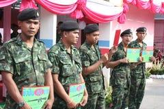 Cruz vermelha 2011 justo (Tailândia) Fotografia de Stock