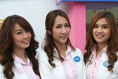 Cruz vermelha 2011 justo (Tailândia) Fotos de Stock Royalty Free