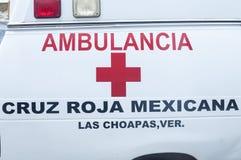 Cruz vermelha mexicana Fotos de Stock