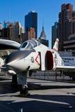 Cruzado de Vought F-8K Fotografia de Stock