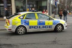 Cruzador da polícia Fotografia de Stock Royalty Free