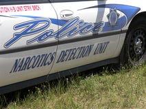 Cruzador da polícia K-9 Fotografia de Stock
