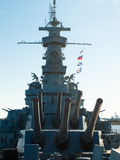 Cruzador de batalha Fotos de Stock Royalty Free