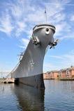 Cruzador de batalha de USS Wisconsin Imagem de Stock
