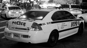 Cruzador de NYPD imagem de stock