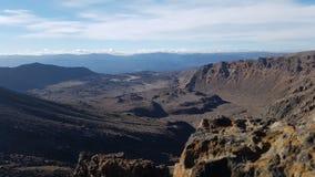 Cruzamento alpino de Tongariro | Nova Zelândia imagens de stock