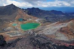 Cruzamento alpino de Tongariro, Nova Zelândia Imagem de Stock Royalty Free