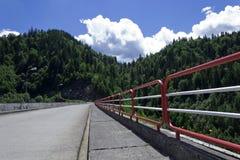 Cruzamento da represa Fotos de Stock