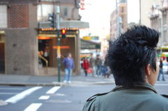 Cruzamento da rua Fotografia de Stock