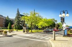 Cruzamento da rua Fotos de Stock Royalty Free