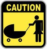 Cruzamento das crianças do cuidado Fotos de Stock