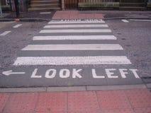 Cruzamento de estrada Imagem de Stock