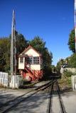 Cruzamento de estrada de ferro Imagem de Stock