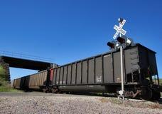 Cruzamento de estrada de ferro Foto de Stock