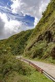 Cruzamento de estrada de terra velho a floresta Imagem de Stock Royalty Free