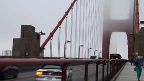 Cruzamento de golden gate bridge vídeos de arquivo