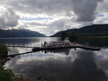 Cruzamento de Loch Lomond foto de stock royalty free