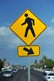Cruzamento de pedestres Fotografia de Stock Royalty Free