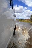 Cruzamento de rio foto de stock