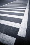 Cruzamento de zebra fotografia de stock